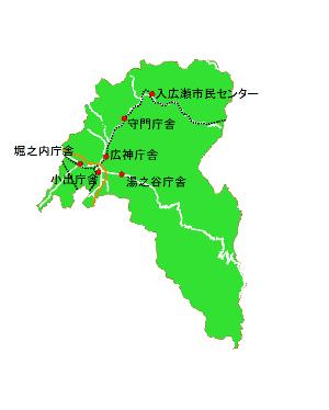 魚沼市概略図